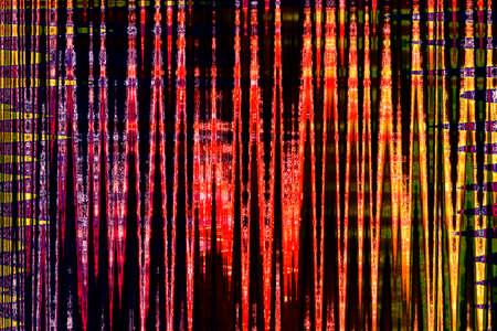 Creative bright abstract background, trendy geometric multicolored pattern, tie dye design Фото со стока