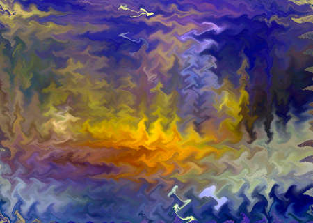 Creative stylish abstract background, trendy waved multicolored pattern, tie dye design Фото со стока