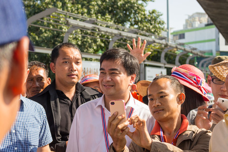 mob: Abhisit Vejjajiva on mob activities during Bangkok Shutdown
