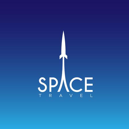 Space template design illustration.