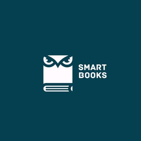 Smart books design template. Vector illustration.