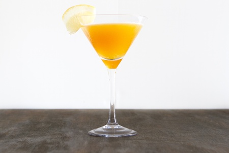 A classic Sidecar  cocktail with a twist.