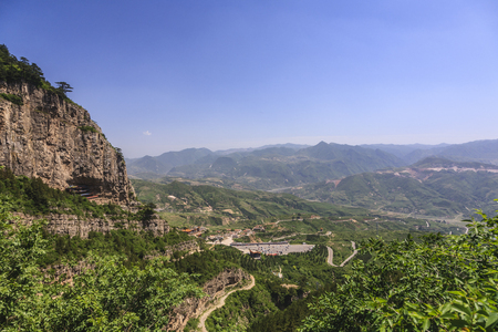 The northern Mt. Hengshan Stock Photo