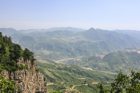 The northern Mount Heng 版權商用圖片