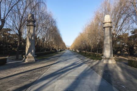 The Ming tombs 新聞圖片
