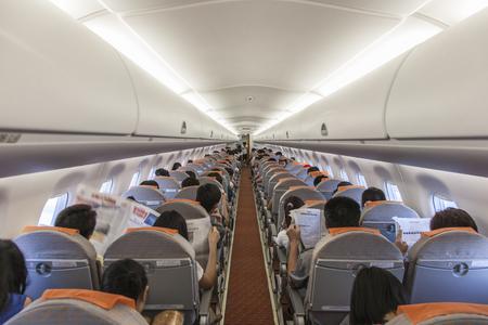 Aircraft cabin Stock Photo - 86833307
