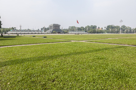 Ho Chi Minh mausoleum Editorial
