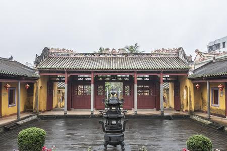 유교 사원, Wenchang, 하이난 스톡 콘텐츠
