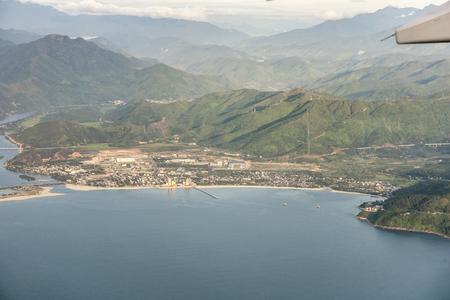 Da Nang aerial view