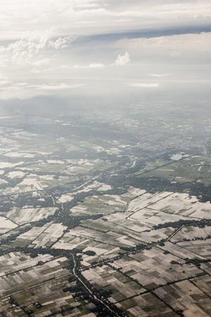 Luchtfoto van Vietnam Stockfoto - 87630091