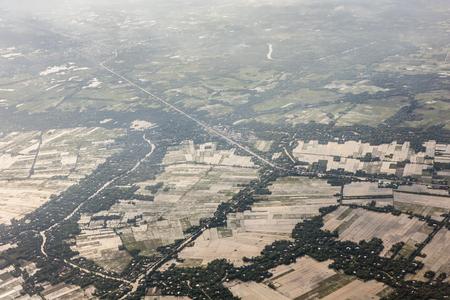 Aerial view of Vietnam