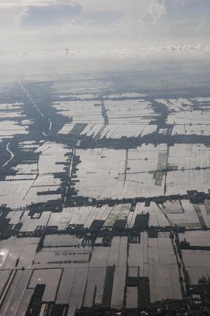 Luchtfoto van Vietnam Stockfoto - 87630108
