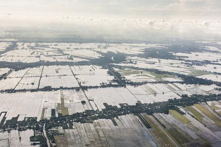 Luchtfoto van Vietnam Stockfoto - 87630110