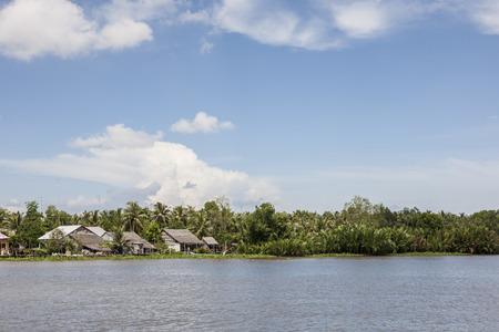 Het landschap van Vietnam Rach Gia Stockfoto - 87630131
