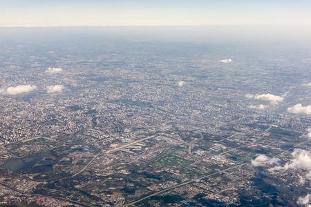 Beijing aerial landscape view