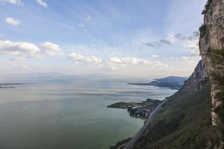 Dianchi Lake landscape scenery view