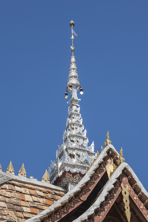 XishuangBanna temple roof