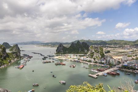 Vietnam Ha Long Bay landscape scenery view