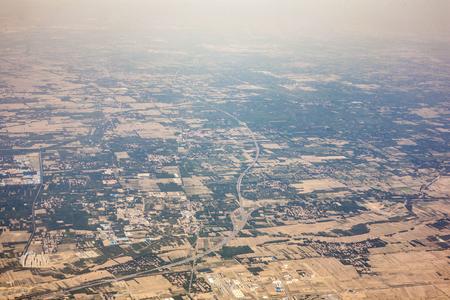 Aerial North China Stock Photo