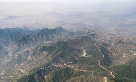 Aerial photograph Shandong Stock Photo
