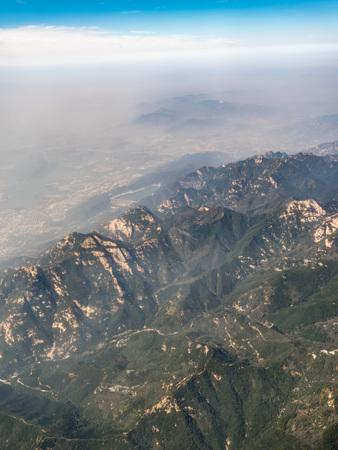 Aerial photograph Taishan Stock Photo