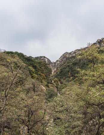 Hiking trails on the Mount Tai, Taishan, Shandong