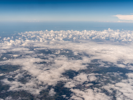 View of clouds in the sky