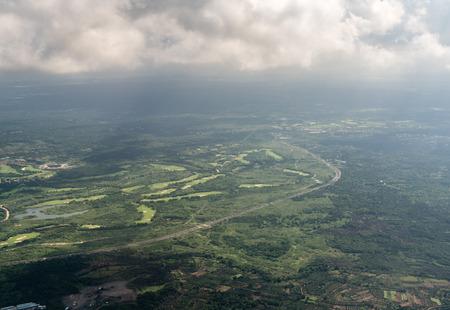 Aerial photography of Haikou Stockfoto - 110171582