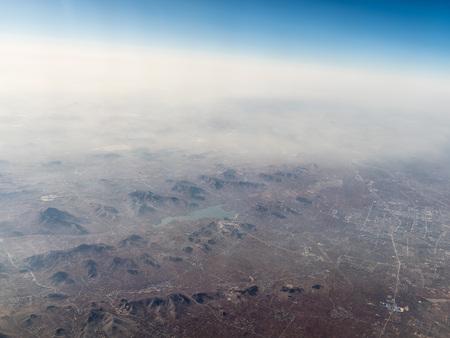 Aerial view of a countryside Reklamní fotografie