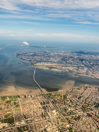 Aerial photography Xiamen 스톡 콘텐츠 - 110077405