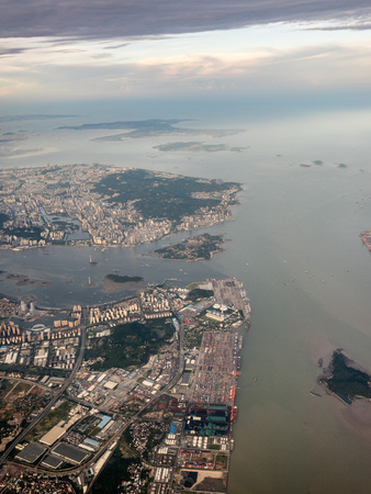 Aerial photography Xiamen 스톡 콘텐츠 - 110077400