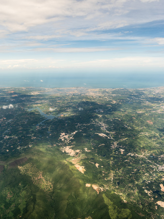 Aerial photography Xiamen Stockfoto - 110077404