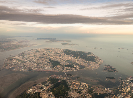 Aerial photography Xiamen