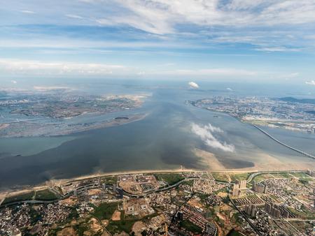 Aerial photography Xiamen 스톡 콘텐츠 - 110077406