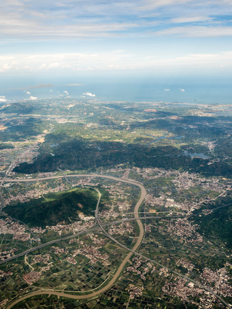 Aerial photography Xiamen 스톡 콘텐츠 - 110077408