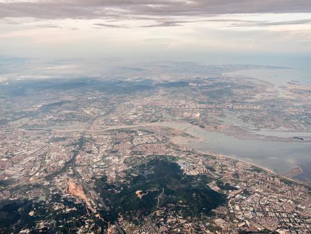 Aerial photography Xiamen 스톡 콘텐츠 - 110077410