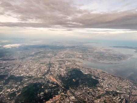 Aerial photography Xiamen 스톡 콘텐츠 - 110077412