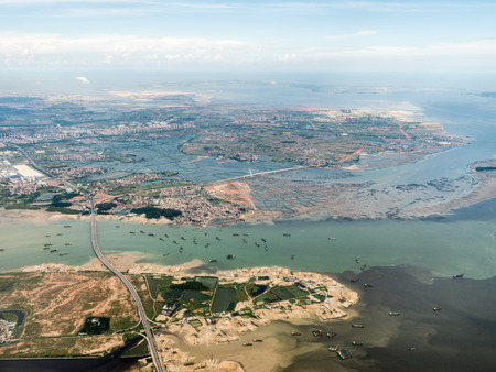Aerial photography Xiamen 스톡 콘텐츠 - 110077413