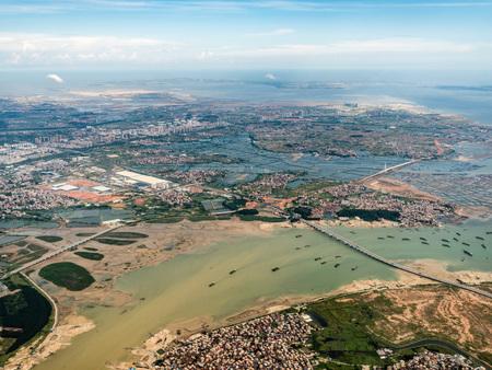 Aerial photography Xiamen 스톡 콘텐츠 - 110077416