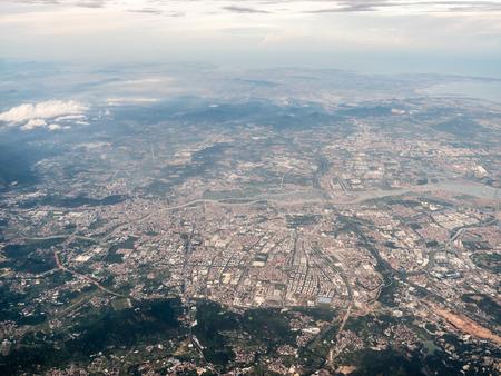 Aerial photography China Stockfoto - 110077418