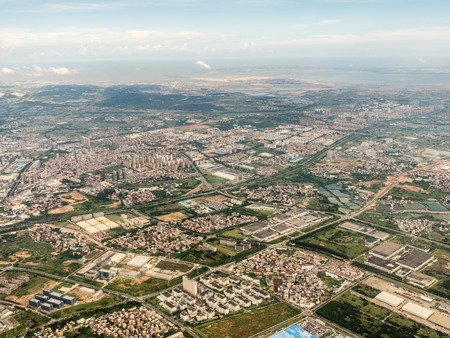 Aerial photography China 스톡 콘텐츠 - 110077460
