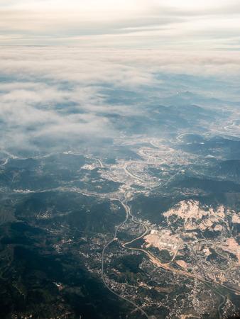 Aerial photography China Stockfoto - 110077458