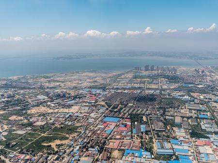 Aerial photography Qingdao 스톡 콘텐츠 - 110077464