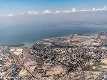 Aerial photography Qingdao 스톡 콘텐츠 - 110077468