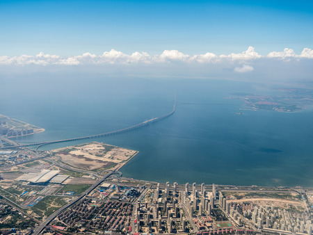 Aerial photography Qingdao Stockfoto - 110077472