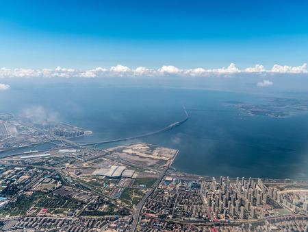Aerial photography Qingdao 스톡 콘텐츠 - 110077470