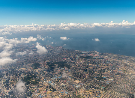 Aerial photography Qingdao 스톡 콘텐츠 - 110077475