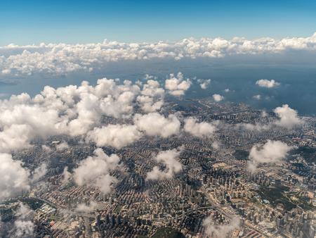 Aerial photography Qingdao 스톡 콘텐츠 - 110077476