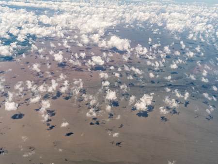 Aerial photography of the Yellow Sea Stockfoto