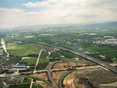 Aerial photography in Ningbo 스톡 콘텐츠 - 109802455